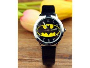 Dětské černé hodinky Znak Batman II