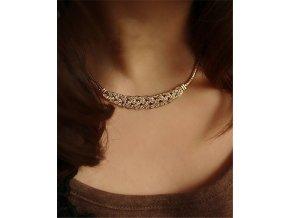Krystalový náhrdelník