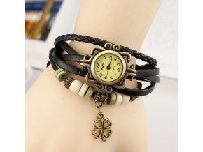 Vintage hodinky čtyřlístek