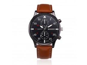 Elegantní kožené hodinky pánské