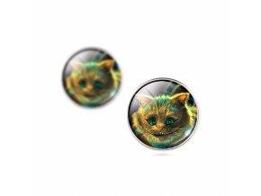 Náušnice Šťastná kočka