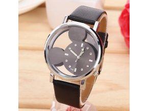 Dětské hodinky Mickey mouse černé