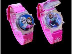 Dětské 3D digitální hodinky Ledové království
