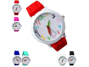 Dětské hodinky pastelky