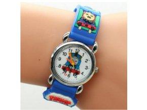 Dětské hodinky Mašinka Tomáš modré