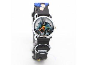 Dětské černé hodinky Batman