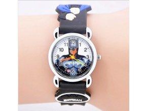 Dětské černé hodinky Batman II