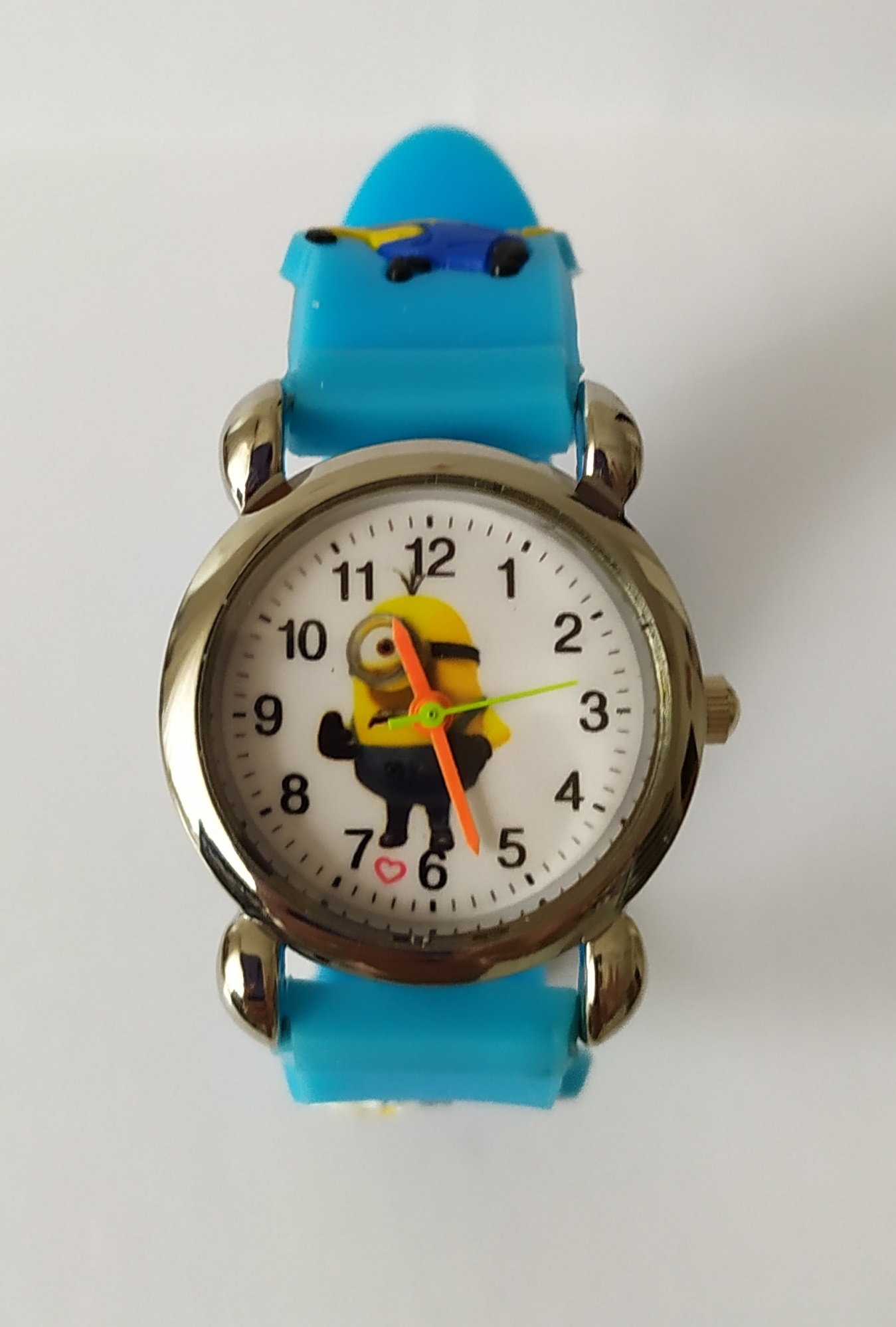Dětské modré hodinky Tančící Mimoň