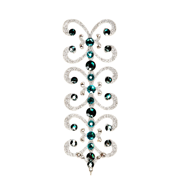 Dámské šperky na tělo stříbrné Florenc - 7 Barev Barva: Zelený
