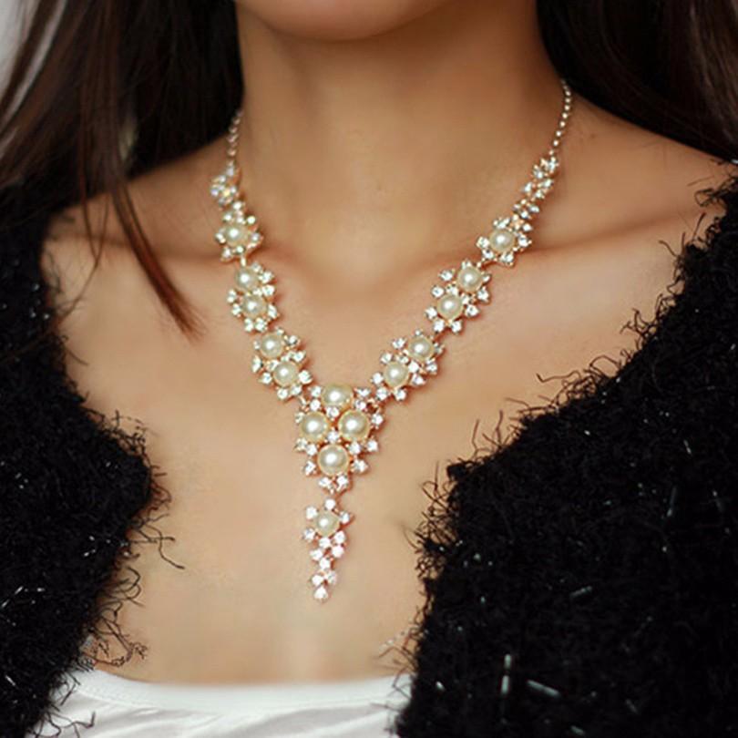 dca02a8cd Nahrdelnik s perlami perlova levně | Mobilmania zboží