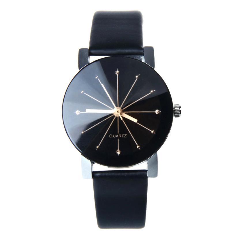 d94e4a9673b Kožené hodinky Rozeta unisex velikost  Ciferník 33 mm