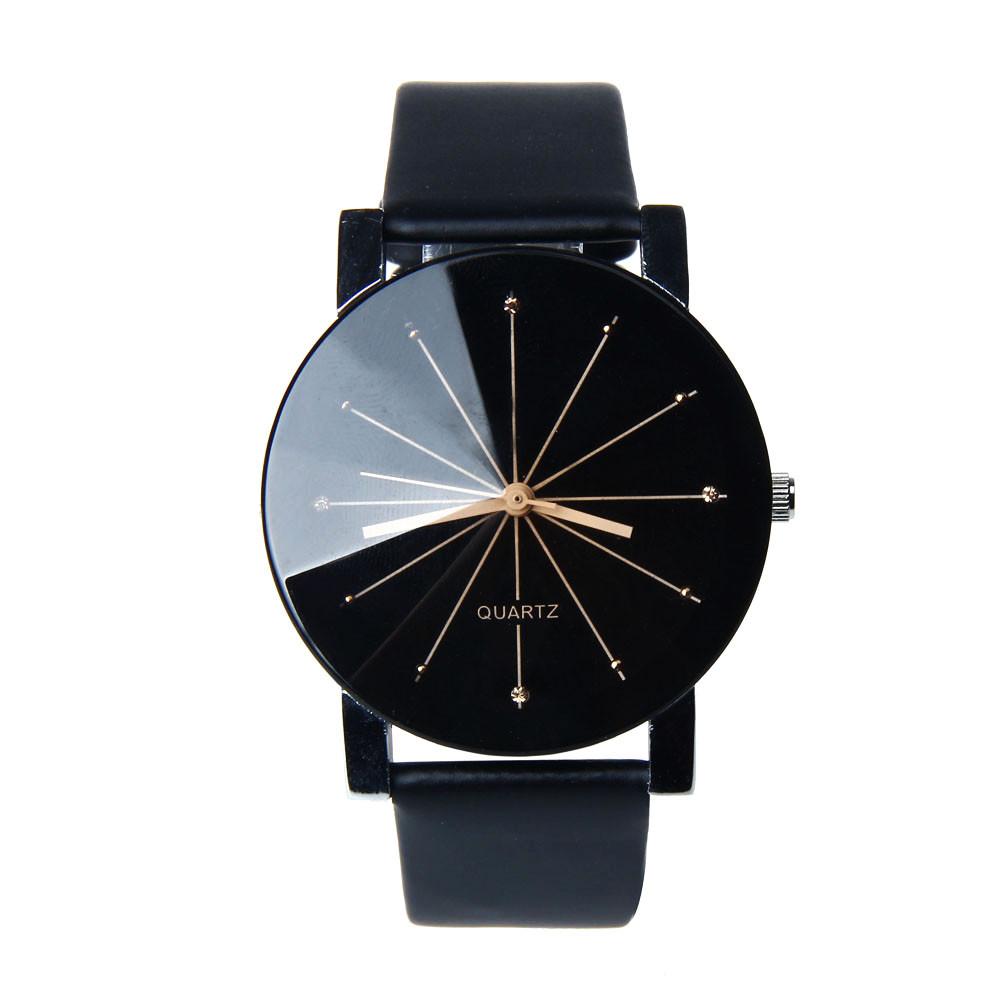 0d78e1b60b9 Kožené hodinky Rozeta unisex velikost  Ciferník 40 mm
