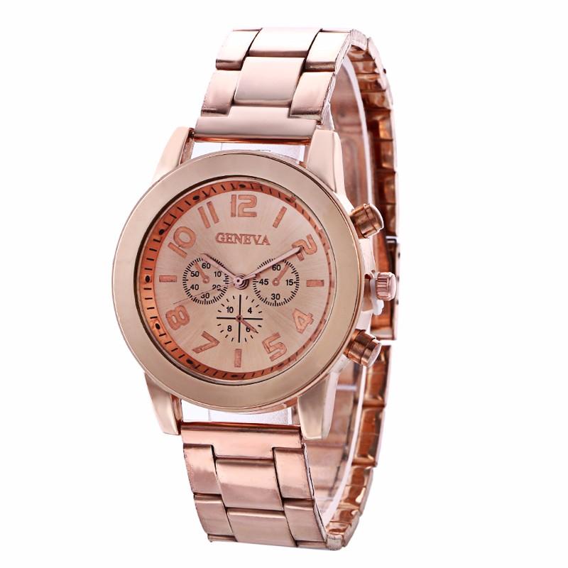Dámské Geneva hodinky kovové