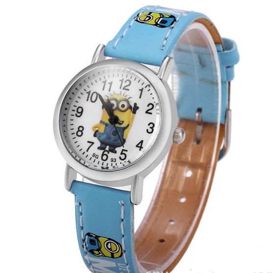 Dětské hodinky Mimoni - 3 barvy Barva  Světle modrý 470217d8a8d