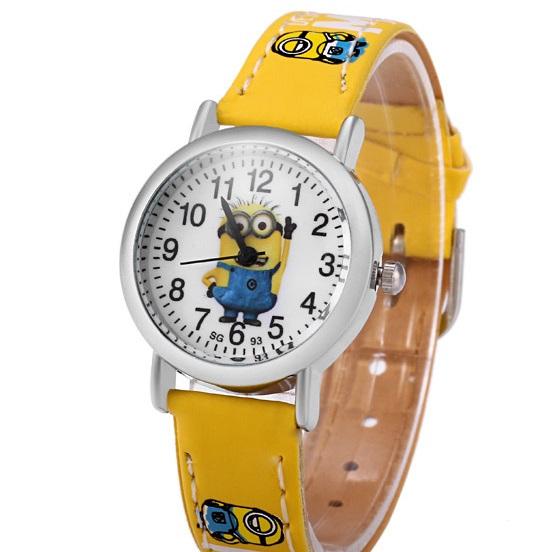 Dětské hodinky Mimoni - 3 barvy Barva: Žlutý