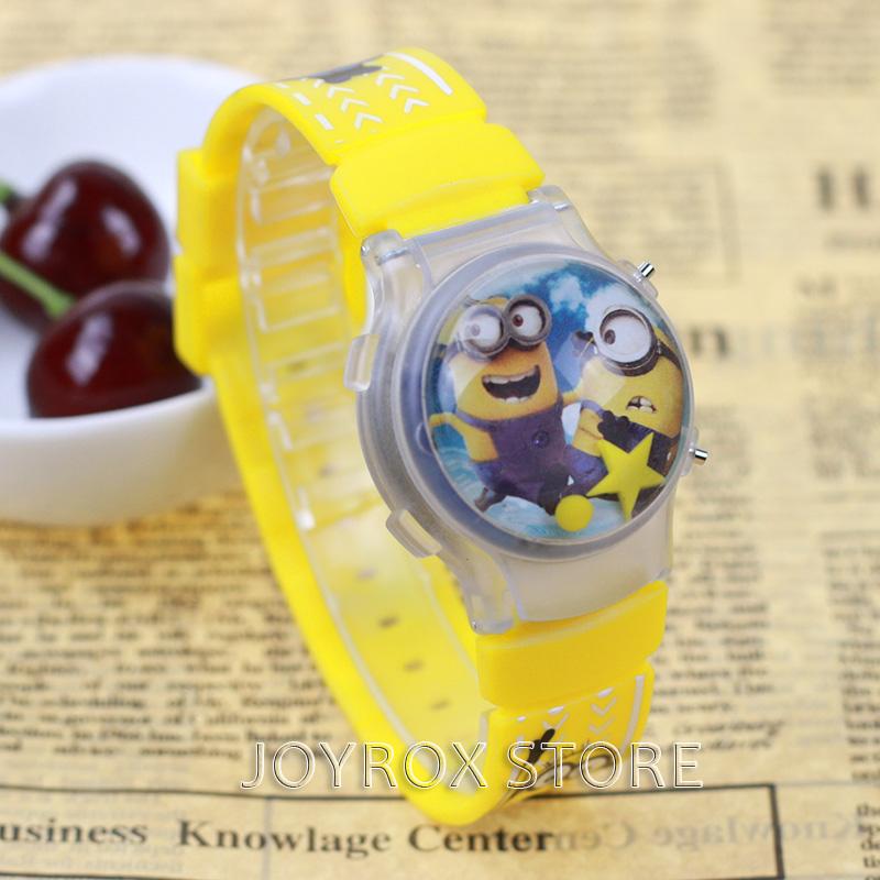 Dětské 3D digitální hodinky Mimoni
