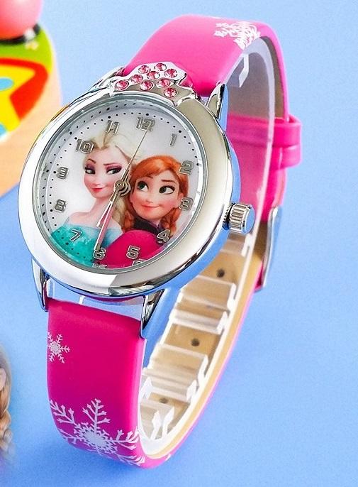 Dětské hodinky Anna a Elsa Frozen