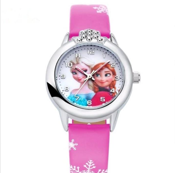 Dětské hodinky Anna a Elsa Frozen - 2 barvy Barva  Bílé kamínky ef668d5c61d