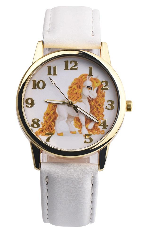 Dětské bílé hodinky Můj malý Pony