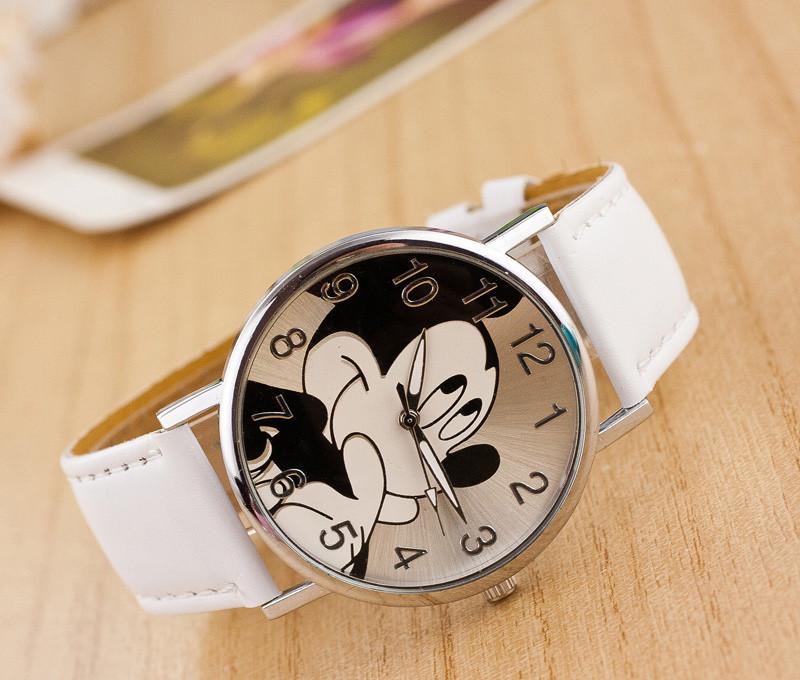 Dětské hodinky Mickey - 3 barvy Barva  Bílé 6c73018dc3