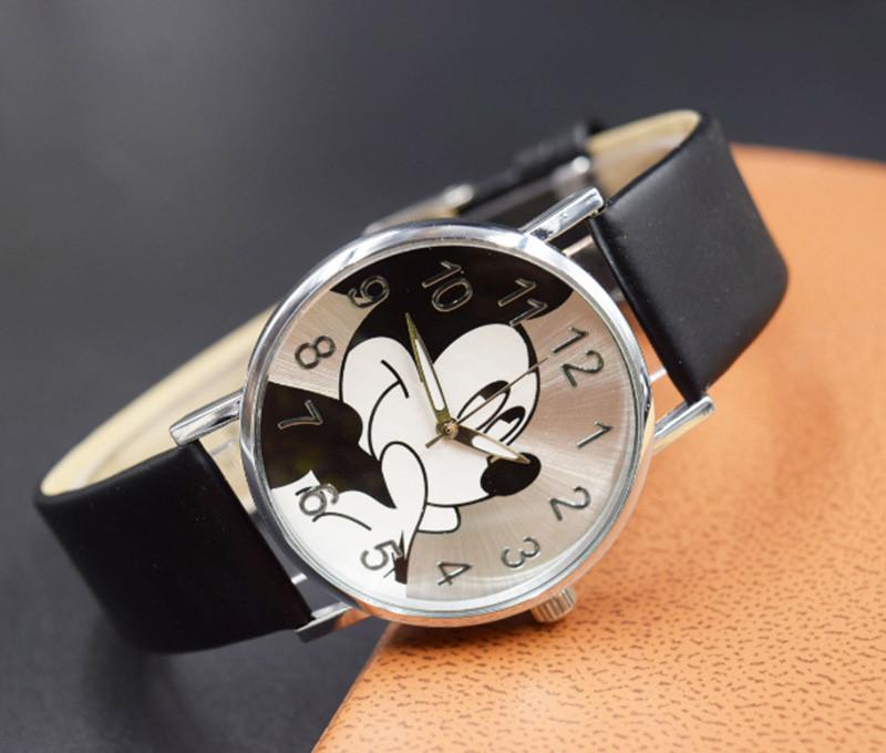 Dětské hodinky Mickey - 3 barvy Barva: Černé