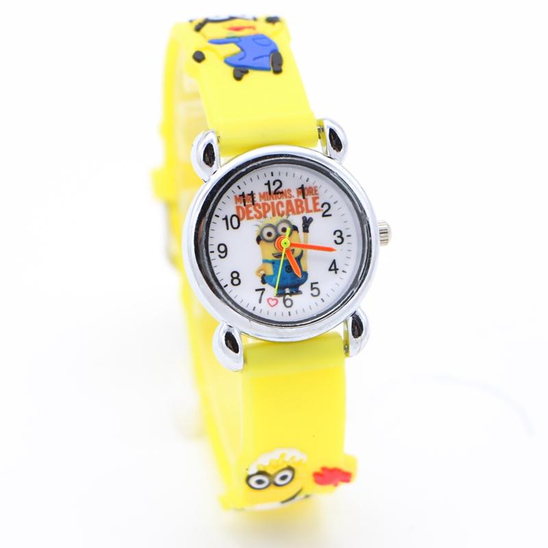 Dětské žluté hodinky Mimoni II