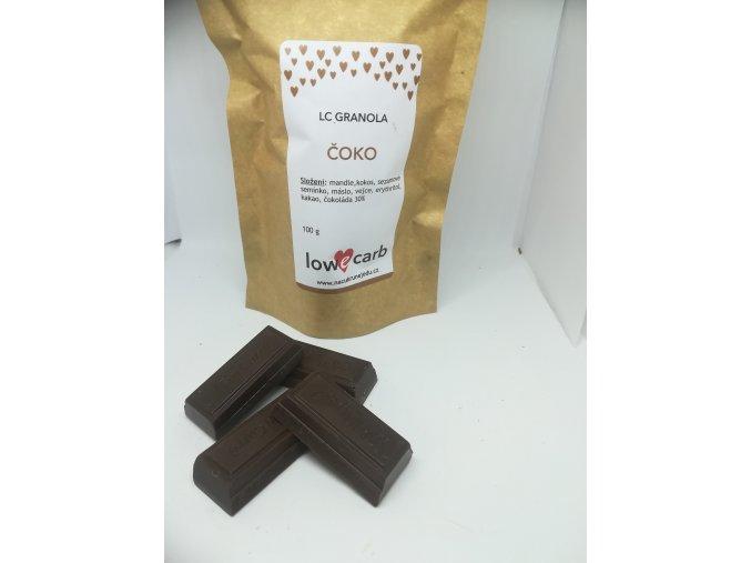 Low Carb granola ČOKO megapack 500 g