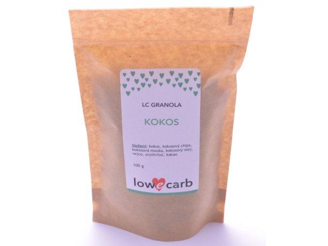 Low Carb granola KOKOS megapack 500 g