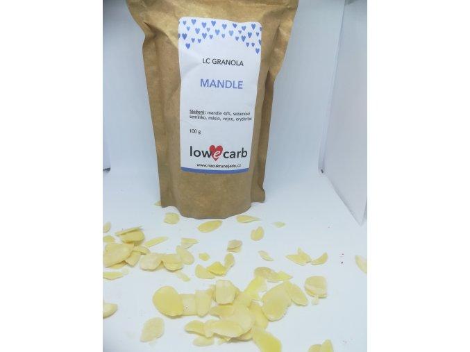 Low Carb granola MANDLE megapack 500 g