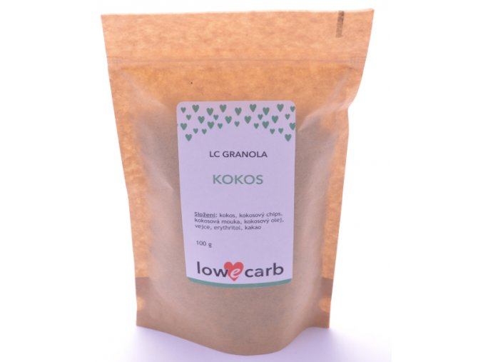 Low Carb granola KOKOS