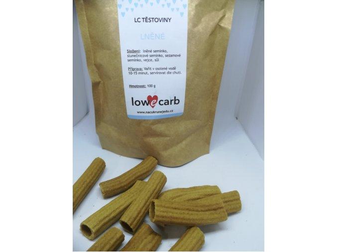 LC těstoviny - lněné 100 g