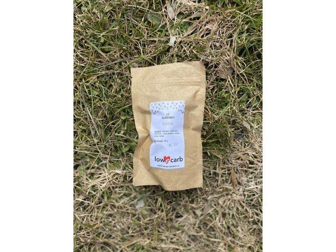 LC sušenky káva
