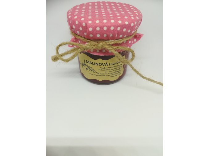 Low Carb marmeláda MALINA