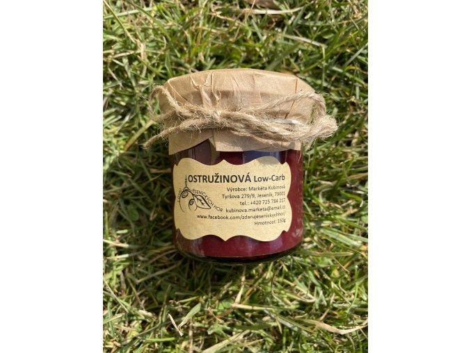 Low Carb marmeláda OSTRUŽINA