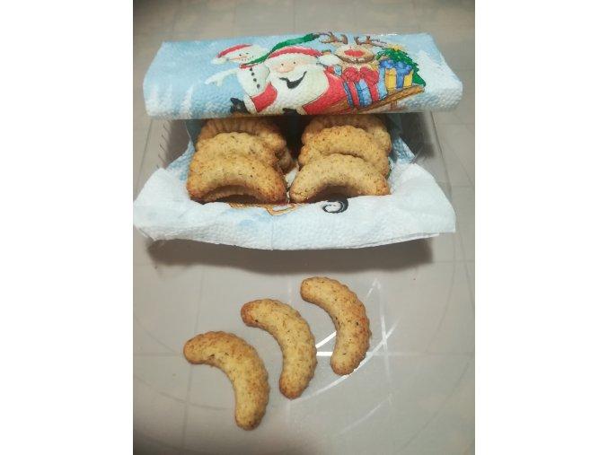 LC cukroví vanilkové rohlíčky s lískovými ořechy 175 g