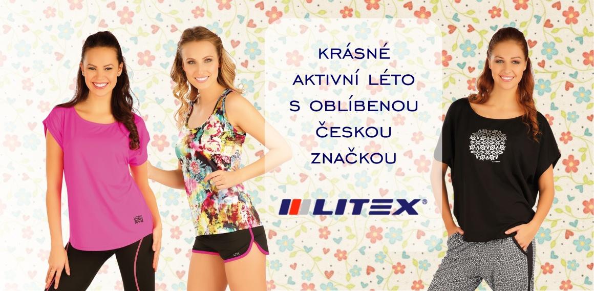 Kolekce dámského sportovního oblečení Litex 2016 v e-shopu NA CVÍČO