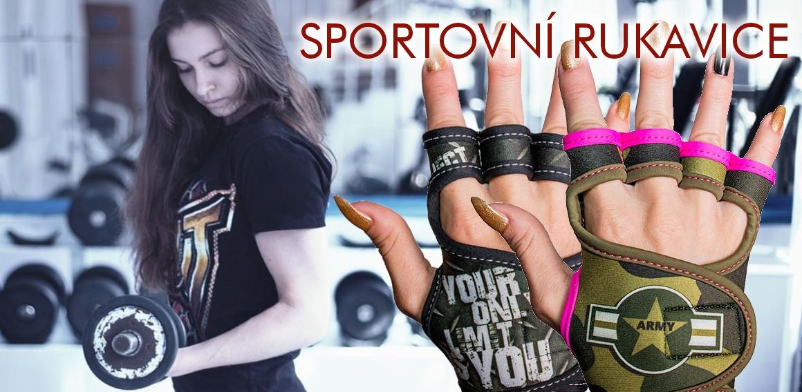 Dámské sportovní - fitness rukavice