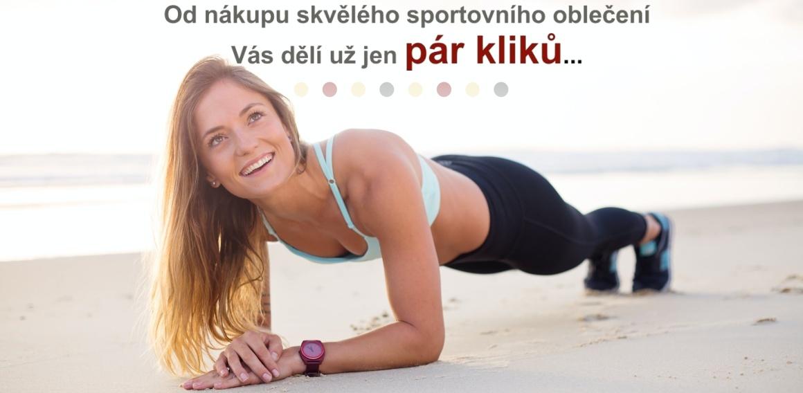 Sportovní oblečení - dámské sportovní, pánské sportovní, dětské sportovní oblečení