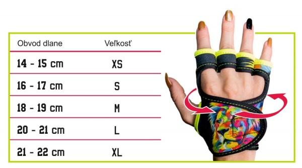 Tabulka-velikostí-fitness-rukavice-GlovBel-Na-Cvíčo