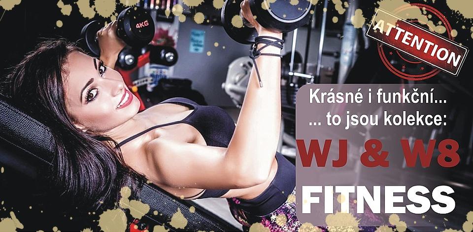 Dámské sportovní oblečení z fitness kolekcí World Jumping a W8 nově v e-shopu NA CVÍČO.