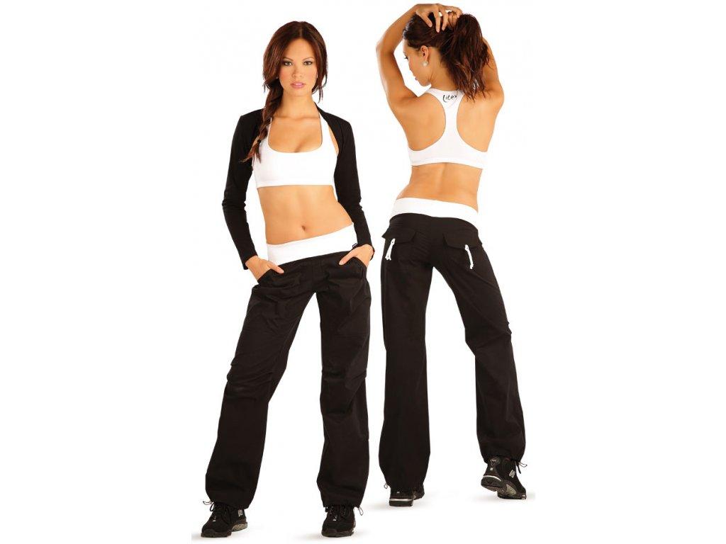 Sportovní kalhoty dámské microtec Litex 55253 černé - nacvico.cz 00cf530798