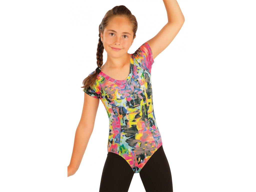 Gymnastický dres s potiskem