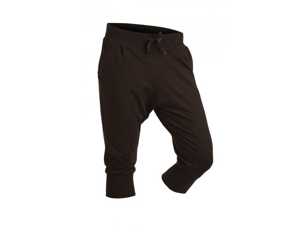 3 4 dámské černé kalhoty s nízkým sedem Litex 50172 - nacvico.cz d4cada1ad3