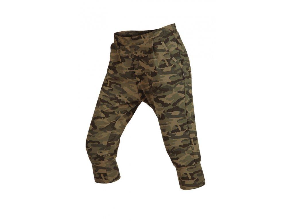2c946fe8a Maskáčové kalhoty dámské 3/4 s nízkým sedem Litex 58028 - nacvico.cz
