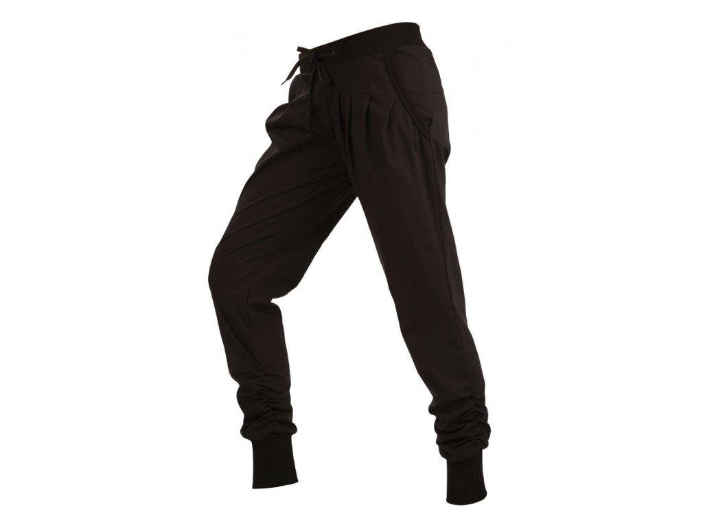 Dámské sportovní kalhoty černé Litex Microtec 54174 Na Cvíčo bcf50f17d5