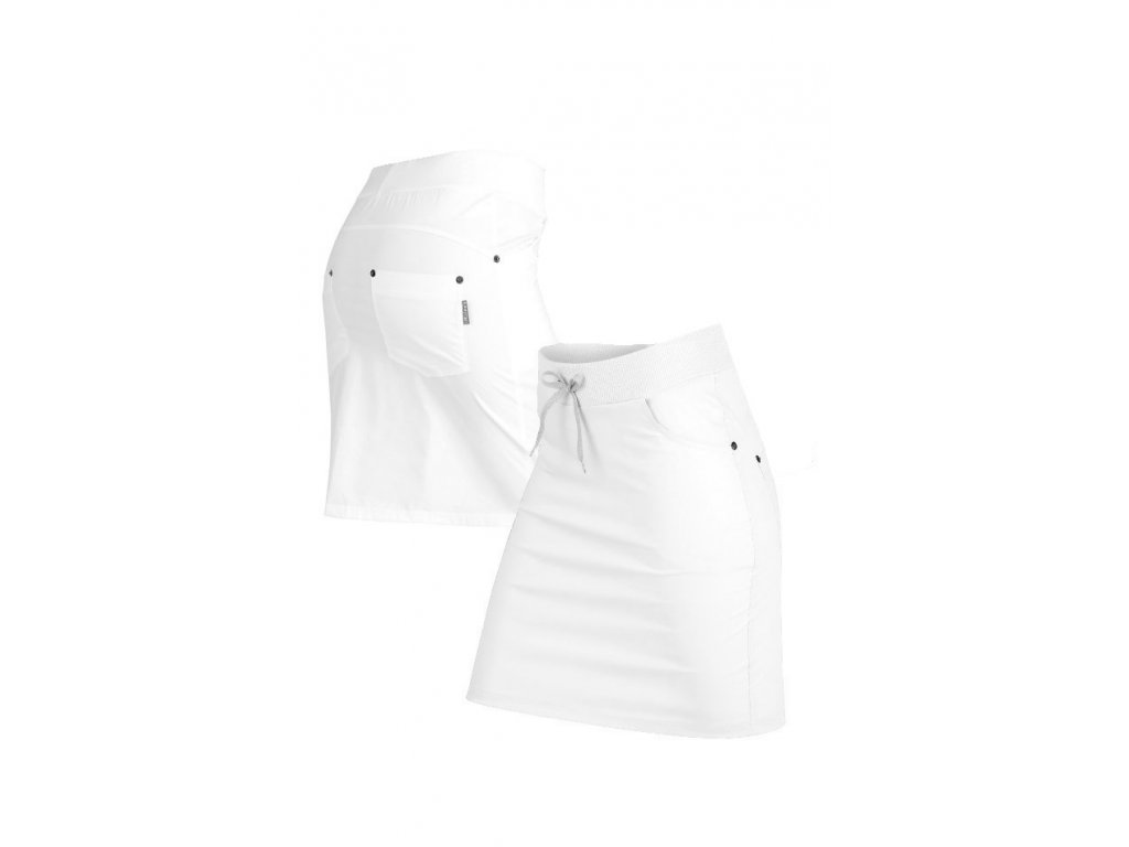 cfb4a8c2c82 Bílá sportovní sukně Litex 54170
