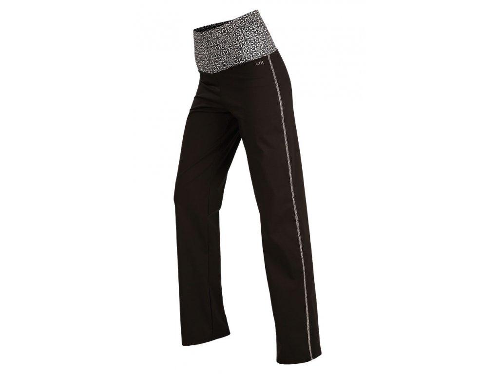 Sportovní kalhoty s vysokým pasem Litex Microtec 55254 143c9e8ae3