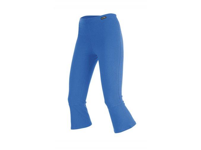 LITEX Legíny dámské v 7/8 délce 99423 - modré