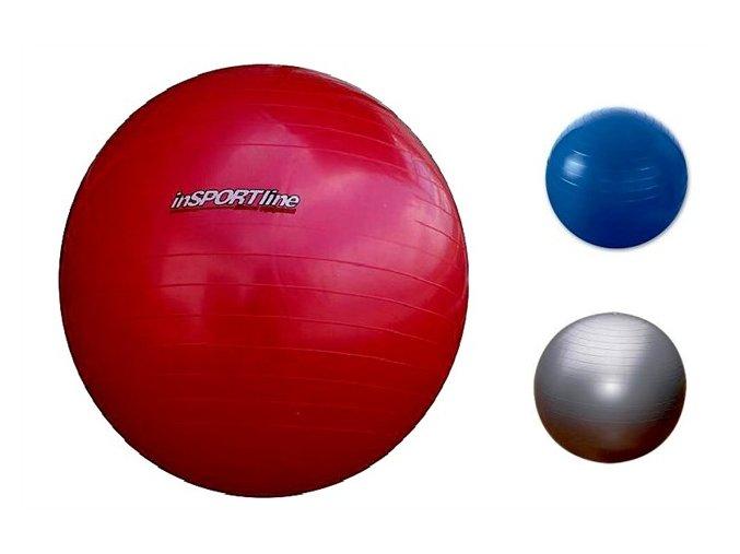 INSPORTLINE Gymnastický míč Regular - průměr 55 cm - modrý