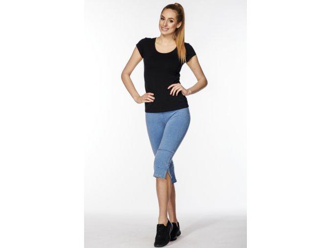 3 4 dámské kalhoty s rozparky draps chamois 2